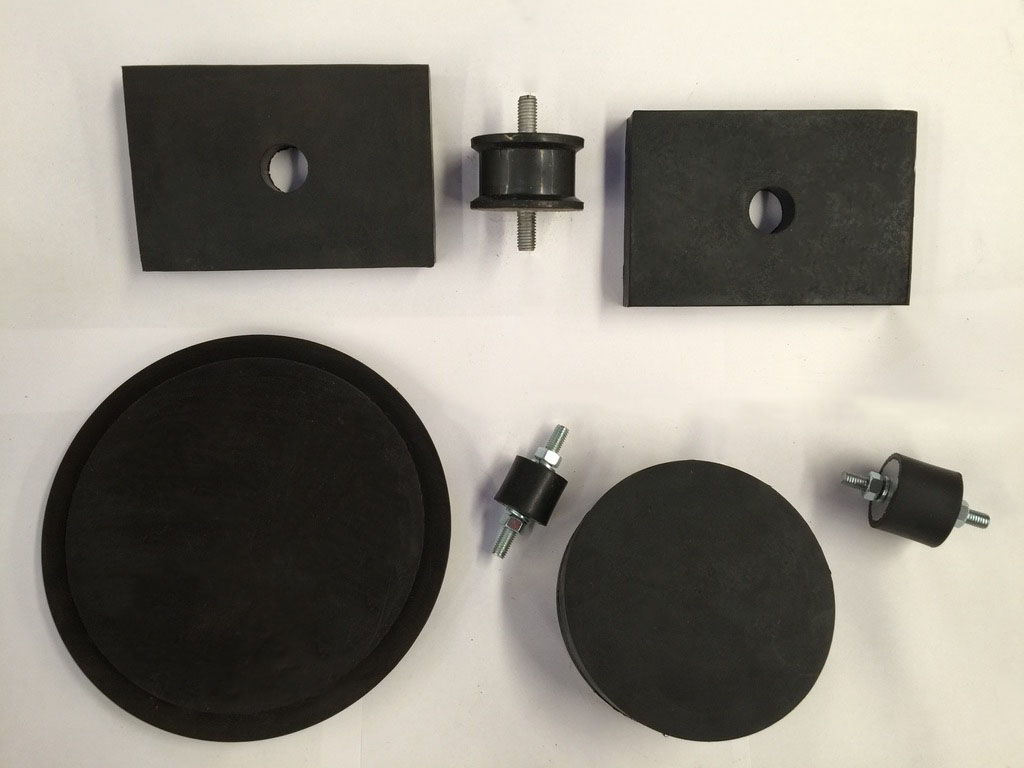 Anti Vibration Rubber Mounts (Isolators) and Pads