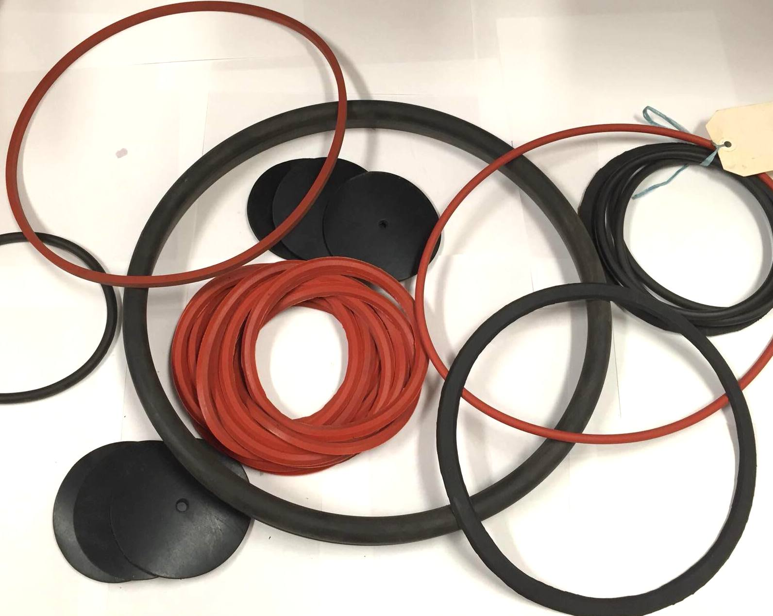 Rubber O-Rings and Washers